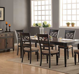 Arlington Leg Table w/ 18″ Leaf by Winners Only