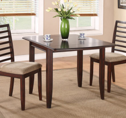 Brownstone 50″ Leg Table w/ Two 10″ Drop Leaves by Winners Only