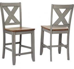 Barnwell 24″ X Back Barstool by Winners Only