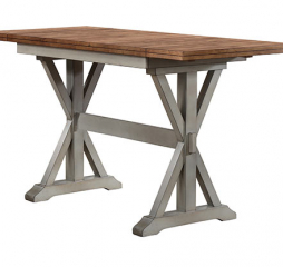Barnwell Tall Table w/ Two 10″ Drop Leaves by Winners Only