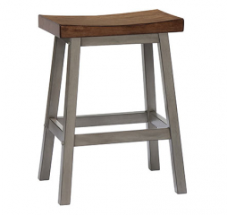 Barnwell 24″ Saddle Barstool by Winners Only