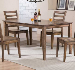 Carmel 60″ Leg Table by Winners Only