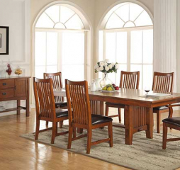 Colorado 96″ Trestle Table w/ 18″ Leaf by Winners Only