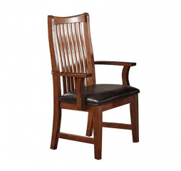 Colorado Raised Slat Back Arm Chair by Winners Only