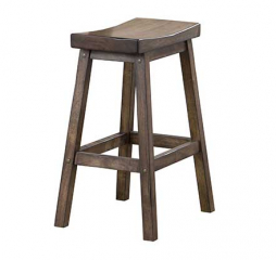 Carmel 24″ Saddle Barstool by Winners Only