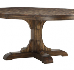 Daphne 66″ Pedestal Table w/ 18″ Leaf by Winners Only