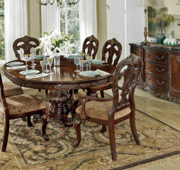 Deryn Park Round/Oval Dining Table by Homelegance