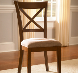 Desoto X Back Side Chair by A America