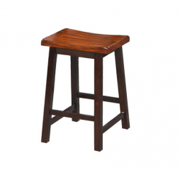 Fifth Avenue 24″ Saddle Barstool by Winners Only