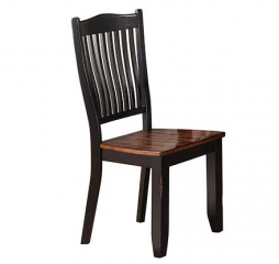 Carson Slat Back Side Chair by Winners Only