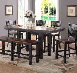 Carson 78″ Tall Table w/ 18″ Leaf by Winners Only