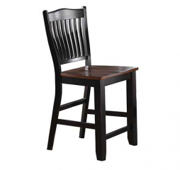 Carson 24″ Slat Back Barstool by Winners Only