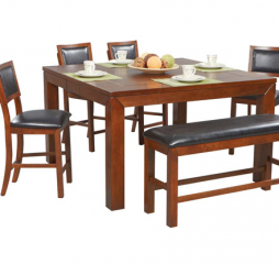 Franklin 72″ Tall Leg Table by Winners Only