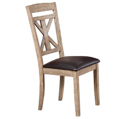 Grandview X Back Side Chair by Winners Only
