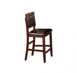 Fallbrook 24″ Cushioned Back Barstool by Winners Only