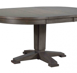 Hartford 66″ Pedestal Table w/ 18″ Leaf by Winners Only