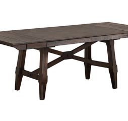 New Haven 96″ Trestle Table w/ Two 12″ Leaves by Winners Only