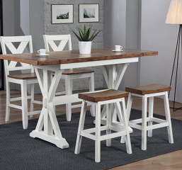 Pacifica Tall Table w/ Two 10″ Drop Leaves by Winners Only