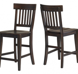 New Haven Rake Back Barstool by Winners Only