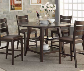 Parkside 60″ Round Table w/ Drop Leaves by Winners Only