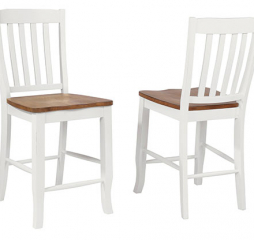Pacifica Rake Back Barstool by Winners Only