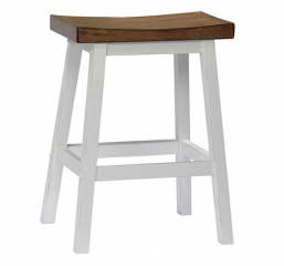 Pacifica Saddle Barstool by Winners Only