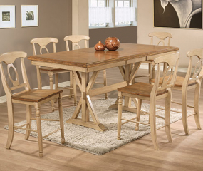 Quails Run Tall Table w/ 18″ Butterfly Leaf by Winners Only