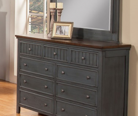 Turner Dresser w/ Nine Drawers by North American Wood