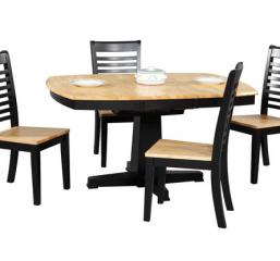 Santa Fe Pedestal Table w/ Butterfly Leaf by Winners Only