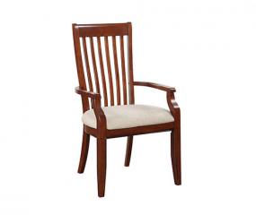 Topaz Slat Back Arm Chair by Winners Only