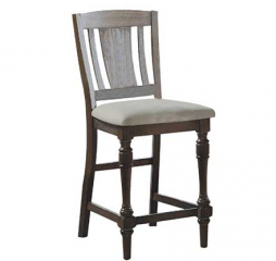 Xcalibur Slat Back Barstool by Winners Only
