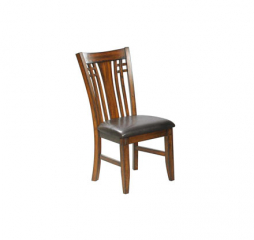 Zahara Slat Back Side Chair by Winners Only