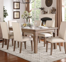 Mill Valley 66″ Dining Table w/ 18″ Leaf by Homelegance