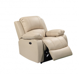 Winnfield Glider Recliner by Leather Italia