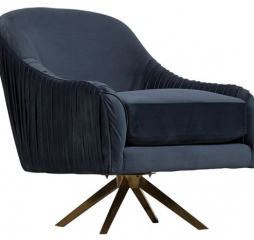 Eloise Swivel Accent Chair By Porter