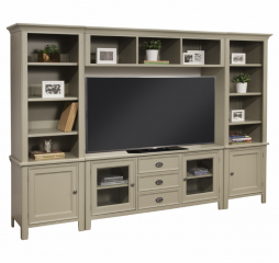 Zurich Entertainment Wall by North American Wood