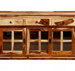 Tahoe 12 Glass Slide Cabinet by Porter