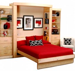 Murphy Deluxe Euro Wallbed by Wallbeds Company