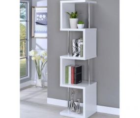 Modern Four-Tier Bookcase by Coaster