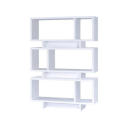 Contemporary Geometric Bookcase by Coaster