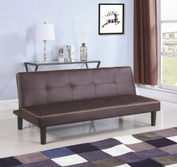 Casual Brown Sofa Bed by Coaster