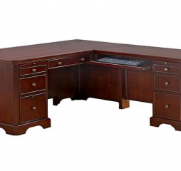 Canyon Ridge 66″ Desk w/ 42″ Return by Winners Only