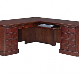 Canyon Ridge 72″ Desk w/ 52″ Return by Winners Only