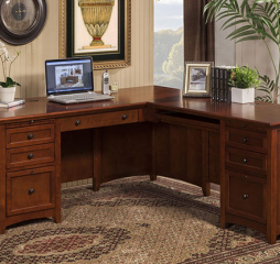 Flagstaff 72″ Desk w/ 48″ Return by Winners Only