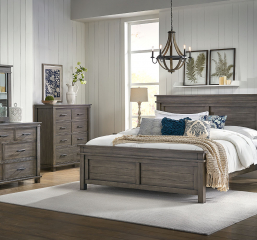Glacier Point Panel Bed by A-America