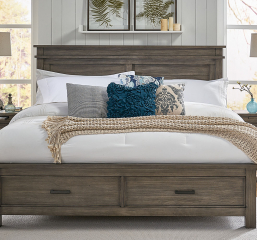 Glacier Point Storage Bed by A-America