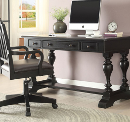 Artisan 54″ Trestle Writing Desk by Winners Only