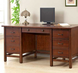 Willow Creek 66″ Flattop Desk by Winners Only