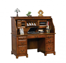 Zahara 57″ Roll Top Desk by Winners Only