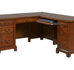 Zahara 66″ Desk w/ 42″ Return by Winners Only